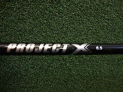Project X 6.5 Stiff Graphite Shaft & Adapter Ping/Taylor/Callaway/Titleist/Cobra