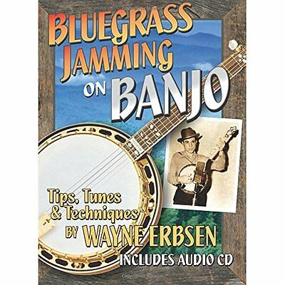 Bluegrass Jamming on Banjo book with CD Wayne Erbsen
