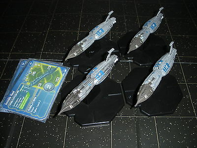 Star Wars Micro Starship Battles Lot Invisible Hand X4 36/60 Machines