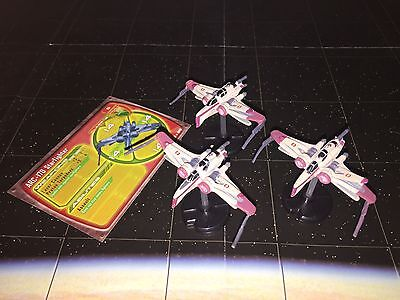 Star Wars Micro Starship Battles Lot ARC-170 Starfighter X3 17/60 Machines RARE!