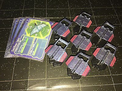 Star Wars Micro Starship Battles Lot X7 Cloakshape Fighter 46/60 Machines