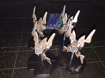 Star Wars Micro Starship Battles Lot X4 Virago 44/60 Machines