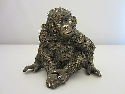 Rarität Gianmaria Buccellati Affe Monkey Silver animal Collection signiert