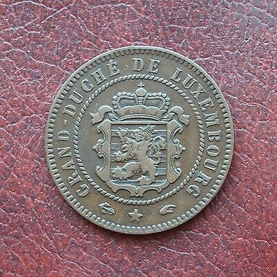 Luxembourg 1855A bronze 5 centimes