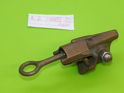 vtg A.B. Chance Co. S1530  Hot Wire Grounding Clamp electrician electrical