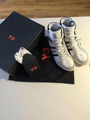 e24ad989f CLASSIC Y-3 SALA High top Sneakers-White-Men 8 (Excellent condition ...