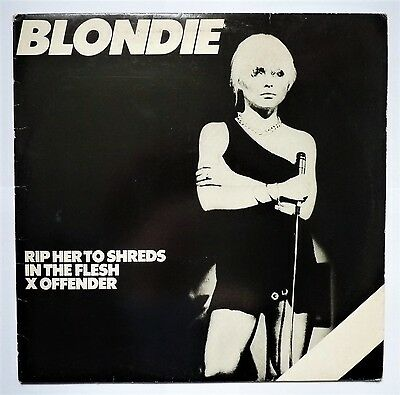 Blondie - Rip Her to Shreds - VINYL 12 INCH