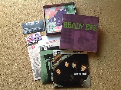 "BEADY EYE 7"" Inch Rare Vinyl Box Set 3 7"" US only ltd release RSD Liam Gallagher"