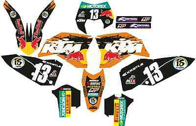 kit adhesivos ktm 2008, 2009, 2010, 2011 exc sx, sticker graphics, decals