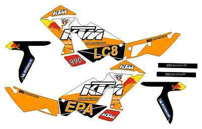 kit adhesivos ktm 950-990 adventure