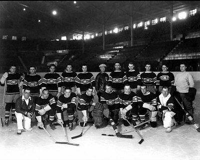 Montreal Canadiens 1927-28 NHL Season Team Unsigned 8x10 Photo