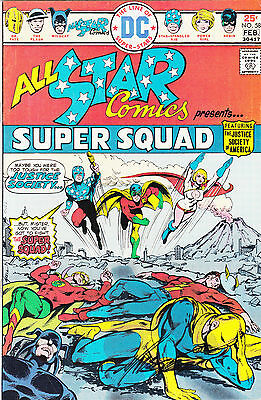 All-Star Comics #58 signed by MIKE GRELL 1rst app. POWER GIRL FREE SHIPPING