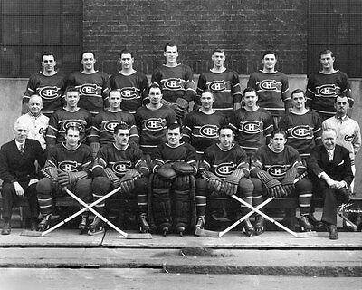 Montreal Canadiens 1945-46 NHL Season Team Unsigned 8x10 Photo