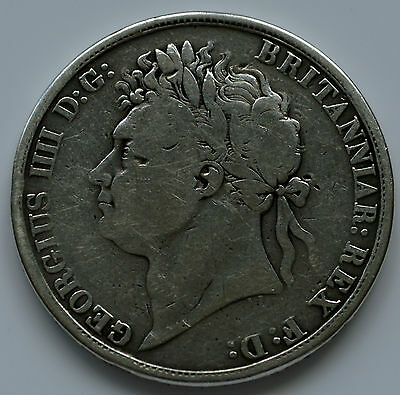 George IV 1821 Secundo Crown   (D3)