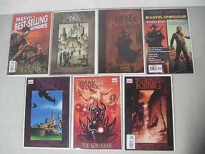 Lot Of 3 Stephen King The Dark Tower #1 One-Shots + 4 Related (7 Marvel Comics)