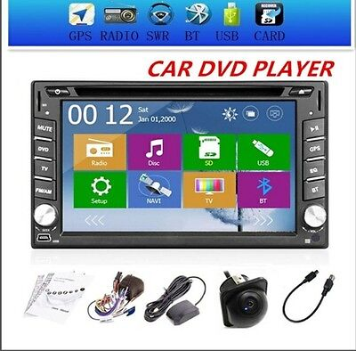 GPS Navigator Car Auto radio 2 DIN In Dash Car DVD Player LCD Touch Screen MP3/M