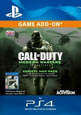 Call of Duty Modern Warfare Remastered Variety Map DLC UK PS4 SAME DAY DISPATCH