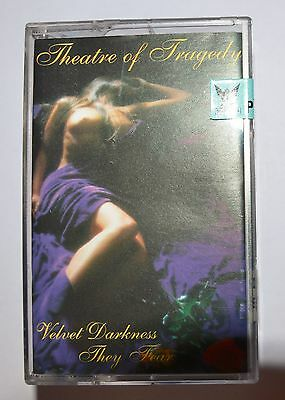 THEATRE OF TRAGEDY - Velvet Darkness They Fear - Music Cassette / MC / Tape