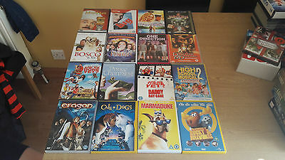 Job Lot of 30 x childrens DVDs