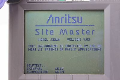 Anritsu SiteMaster S331A Cable & Antenna Analyzer  *UNIT ONLY*  {2276 IL7}