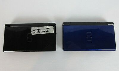 Two Nintendo Ds Lite consoles for Parts or Repair- *Broken*