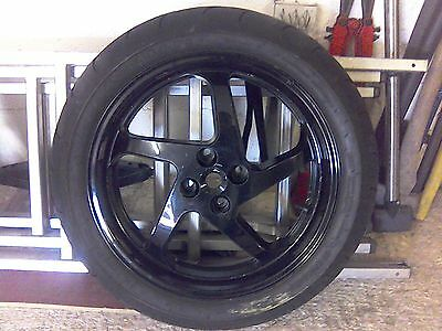 Honda VFR 800 17 inch Rear Back Wheel and Dunlop Sportmax tyre 180 55 17