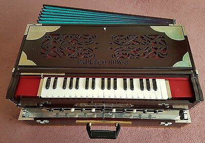 Paul and Co Professional 4 set folding Harmonium scale changer coupler