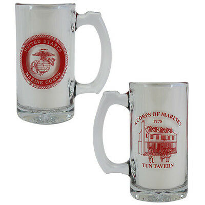 Vanguard Marine Corps Tun Tavern Glass Mug
