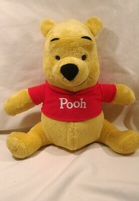 Winnie the Pooh Plush Bear T9405 Sing and talking Children's 2010 Disney Mattel
