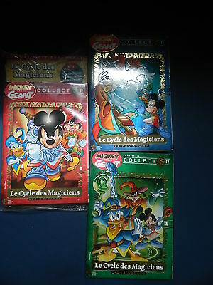 Disney 2017 - Mickey Parade Hors Serie - Serie Le Cycle Des Magiciens   + N 355
