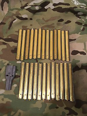 Stripper Clips 5.56  25 Each With 1 Loader USGI Military Surplus