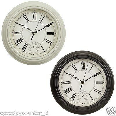 Vintage Style Roman Numerals Traditional Lincoln Wall Clock Room Decoration