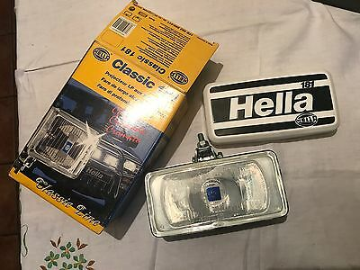 Hella CLASSIC 181 CHROME Body Fog Lamp Light inc Protective Cover, new old stock