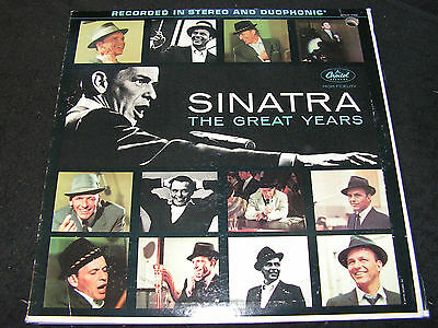 FRANK SINATRA The Great Years 1953 - 1960 / US 3 LP-SET CAPITOL STCO 1762