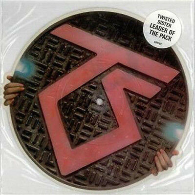 "Twisted Sister 10"" Shaped Disc Leader Of The Pack-UnPlayed. Glam Kings From 1985"