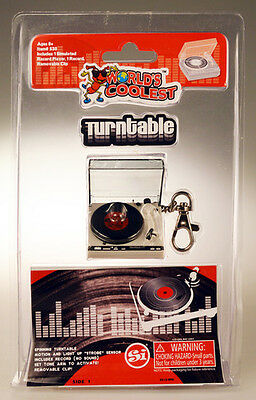 Worlds Coolest Classic Turntable - Worlds Coolest (2017, Toy NEW)