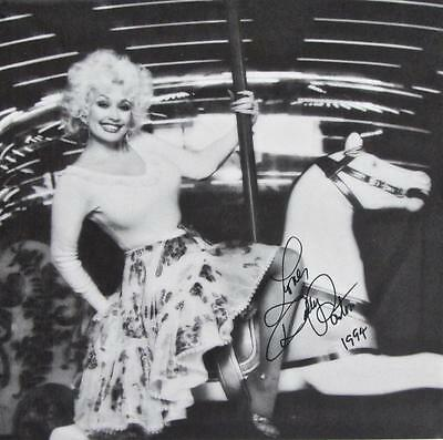 Dolly Parton Hand Signed Autograph Lp Album Jacket /no Record