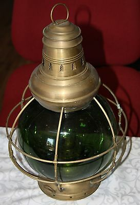 Perko Perkins Brass Ship Lamp 8 ,  Schiffslampe Messing Laterne
