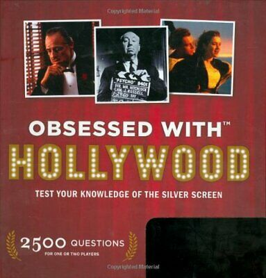 Obsessed With.Hollywood by Andy Rausch Hardback Book The Cheap Fast Free Post
