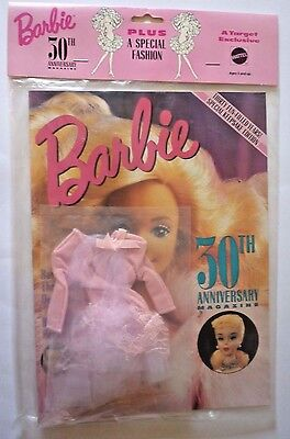 Barbie 30TH Anniversary Magazine plus A Special Fashion Mattel 1989 Target