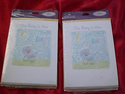 Hallmark Our Baby Is Here Announcements Cards and Envelopes