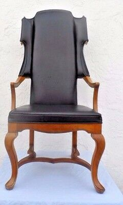 Tall back armchair by Jim Peed for his Esperanto Collection for Drexel Gothic