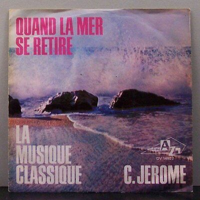"(o) C. Jerome - Quand La Mer Se Retire (7"" Single)"