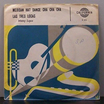 "(o) Manny Lopez - Mexican Hat Dance Cha Cha Cha (7"" Single, Denmark)"