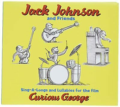 Curious George - Jack Johnson and Friends CD DEVG The Cheap Fast Free Post The