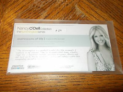 Creative Memories ~ Expressions of LIFE ~ 30 Quotes-  Vellum Paper~ Nancy O'Dell
