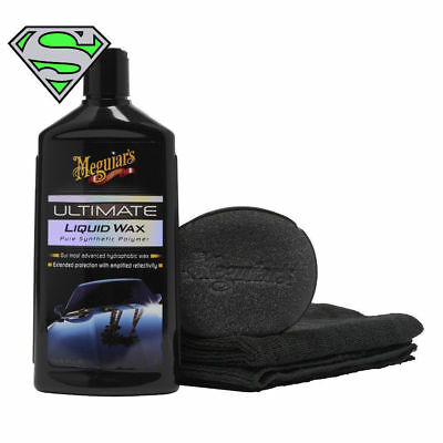 Meguiars Ultimate Liquid Wax G18216 Polisher Compound Car Care Cleaning Wax