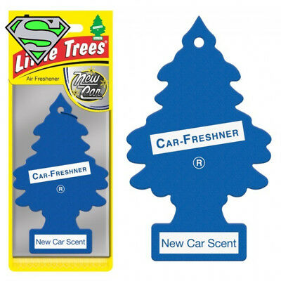 Genuine Little Tree New Car Scent Air Freshener X10 Fragrance Car Truck Scent