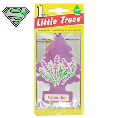 Genuine Little Tree Leather Air Freshener X10 Fragrance Car Truck Scent