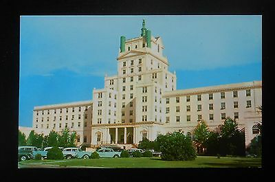 1950s Ocean Forest Hotel Old Cars Myrtle Beach SC Horry Co Postcard
